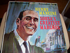 HENRY MANCINI-SOUSA'S GREATEST MARCHES-LP-NM-WARNER BROTHERS GOLD LABEL