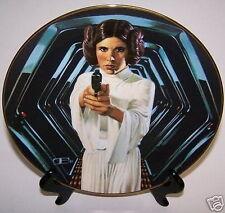 Star Wars Plate Princess Leia Empire Jedi Movies Rots