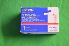 Epson SJIC14(R) C33S020463 Red Ink TM J7100  J7600 J9100 SJIC14 (R) R  SJIC14R