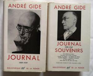 1960 LA PLÉIADE ANDRÉ GIDE 2 Tomes.
