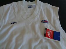 ABL Womens Basketball VINTAGE Reebok 90's Vest LARGE Sweater NEW Defunct League