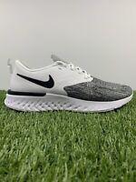 Nike Odyssey React 2 Flyknit AH1015-100 White Black Men's Running Shoes RARE!