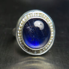 Filling Natural Sapphire Sterling Silver Fine Jewellery
