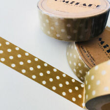 Polka Dot Gold Scrapbooking Tapes