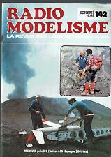 REVUE RADIO MODELISME N°142  1978  VOIR SOMMAIRE   vintage model magazine