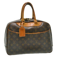 LOUIS VUITTON Monogram Deauville Hand Bag M47270 LV Auth th311