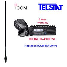 Icom IC-410Pro (Replaces IC400Pro) UHF CB + GME AE4702B (Black) 6.6dBi Antenna