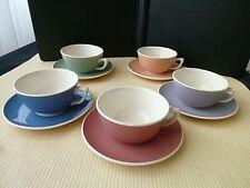 5 Tasses à thé ou café  Villeroy Boch Mettlach  NOUVEAUTE