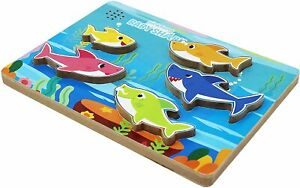 Pinkfong Baby Shark - Wooden Sound Puzzle
