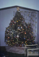 Vintage Photo Slide 1978 Christmas Tree Decorated