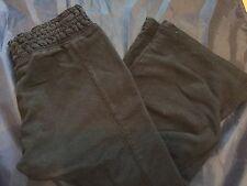 Girls Black Capri And Long Yoga Pant Size 8