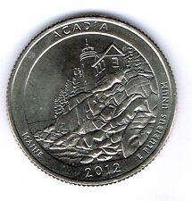 2012-S San Francisco Proof Acadia National Park Quarter Coin!