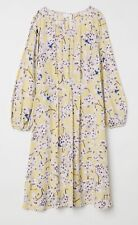 H&M Dress. Anna Glover Collection. BNWOT. Size 10. Floral. Textured. Midi