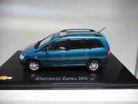 CHV 47 CHEVROLET ZAFIRA 2001 OPEL ZAFIRA BRASIL SALVAT 1/43