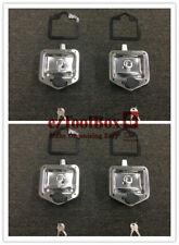 x4 T-LOCK T-HANDLE LOCK RECESSED STAINLESS KEYED ALIKE TRAILER CARAVAN TOOLBOX