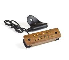 Artec WSH12 noyer en bois Humbucker Rosace Pickup pour Guitare acoustique