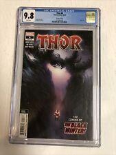 Thor (2020) # 4 (CGC 9.8 2nd Print)  Virgin Variant Black Winter Cover