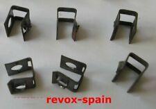6x PRESILLAS GRAPAS CHASIS 6 UNITS SNAPNUT Ref: 22.16.2021 - REVOX A77, B77