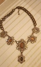 House of Fraser necklace. Metal. Used