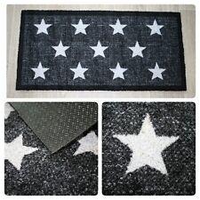 Schmutzfangmatte Fußmatte Sauberlaufmatte Abtreter Türvorleger Star black modern