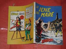 ZAGOR- NO ZENITH- N°24 d-originale DA LIRE 200 -1972 **NOME ROSSO-GALLIENO FERRI