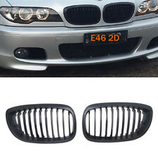 Black Kidney Sport Grill Grille For BMW E46 LCI Facelift Coupe Cabriolet M 02-05