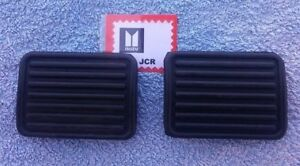Isuzu JCR Truck 1978 to 1984 pair new Brake and Clutch Pedal Rubber Pads