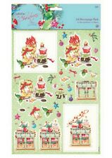 Papermania Lucy Cromwell At Christmas A4 Decoupage Pack