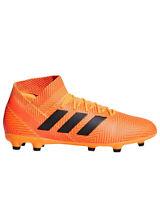 Adidas Nemeziz 18.3 FG J Zest/Core Black/Solar Red Soccer Shoe DB2352 Size 10.5