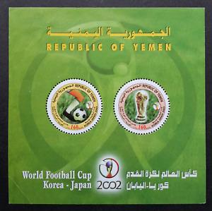 Yemen Korea Japan World Cup Football 2002 Soccer Sport (ms) MNH*odd *see scan