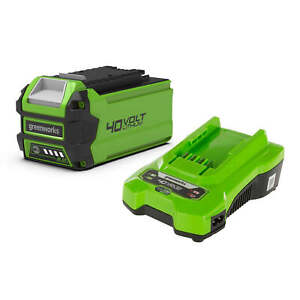 Greenworks 40V 2Ah Lithium-ion Battery & Universal Charger Kit