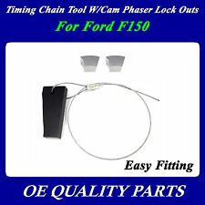 for Ford F150 5.4L 4.6L Timing Chain Tool W/Cam Phaser Lock Outs 3R2Z6A257DA