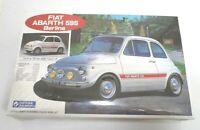 Gunze Sangyo Vintage Fiat Abarth 595 Berlina Plastic Model Kit Scale 1:24 Japan