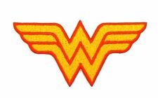 Wonder Woman Logo Fully Embroidered Patch / Badge / Emblem / Applique