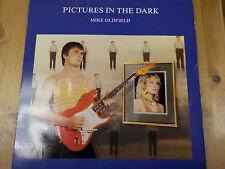 """Vs 836 1985 Reino Unido 7"""" 45 Rpm Mike Oldfield """"imágenes en la oscuridad"""" EX + +"""