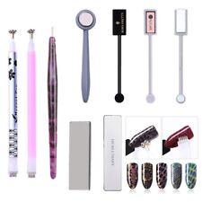 10Pcs/Set Nail Art Magnetic Stick Board Pen for 3D Cat Eye UV Gel Polish Tool