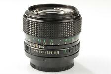 Canon sehr hübsches FD 50mm 1:1,2 normal Schmutz/Kratzer o. OVP