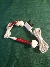 Sony Ericsson Hpm 70 Ear Buds, Red/white
