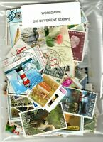 COLLECTION / PACKET - WORLDWIDE -200 DIFFERENT STAMPS..LOOK...FREE SHIPPING.