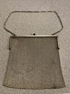 Tiffany & Co. Sterling Silver Bag Vintage Mesh Chain Purse