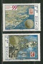 MONACO MINT NEVER HINGED NH # 2138 - 2139