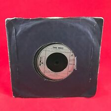"""THE WHO 5.15   1973  UK 7"""" vinyl single EXCELLENT CONDITION 45"""