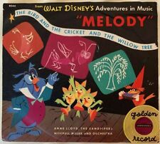 Walt Disney's Golden Record Melody Bird and Cricket and Willow Tree RD44