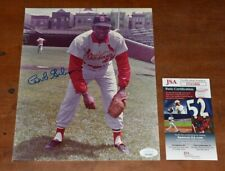 Bob Gibson Signed 8x10 Photo-Hall of Fame-St. Louis Cardinals-Jsa Authenticated