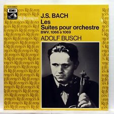 ADOLF BUSCH CHAMBER PLAYERS - JS BACH suites for orchestra EMI Ref. 2xLPs EX++