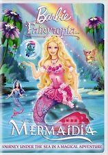 BARBIE FAIRYTOPIA MERMAIDIA New Sealed DVD
