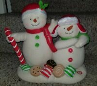 HALLMARK JINGLE PALS Seasons Treatings 2008 Animated Musical Plush Snowman
