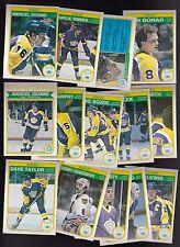 1982 - 83 OPC Team SET Lot of 14 Los Angeles KINGS NM+ o-pee-chee DIONNE MURPHY