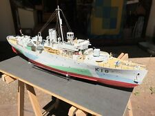 Modellbau - Schiff HMS Flower Class CAMPANULA - fertig gebaut - 1:72 - Revell
