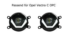 LED Nebelscheinwerfer + Tagfahrlicht Black Cree Chip Opel Vectra C OPC LSW4